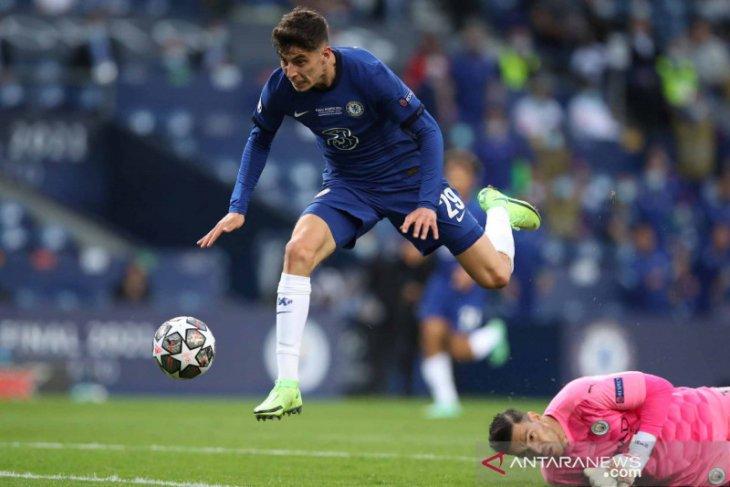 Gol tunggal KaiHavertz antar Chelsea juara Liga Champions