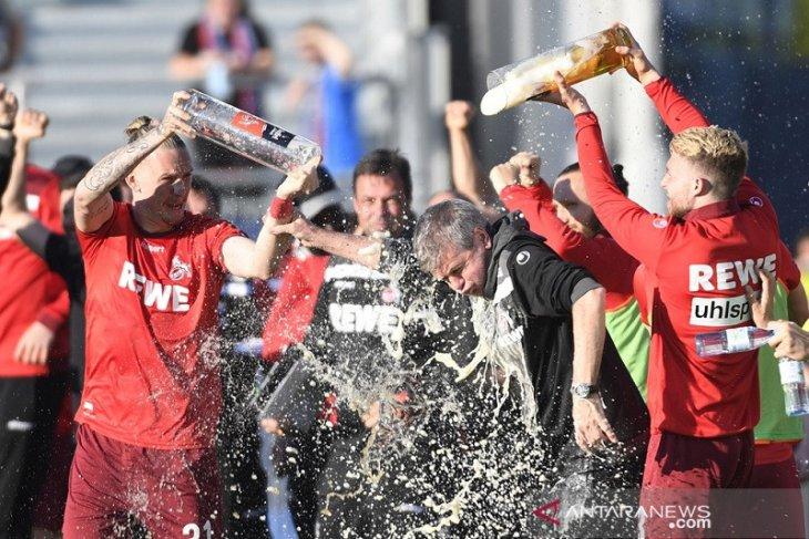 Cologne hempaskan mimpi Holstein Kiel main di kasta tertinggi Liga Jerman