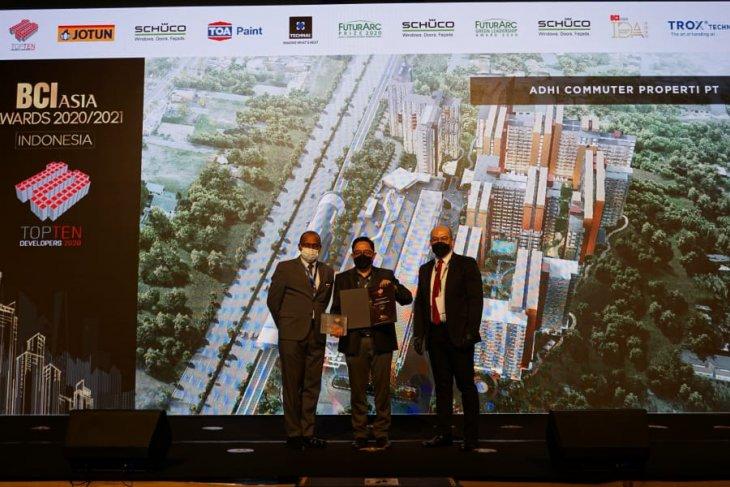 Adhi Commuter Properti raih BCI Asia Top 10