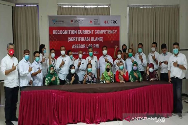 IFRC dukung LSP PMI Gelar Upgrading Asesor Kompetensi.