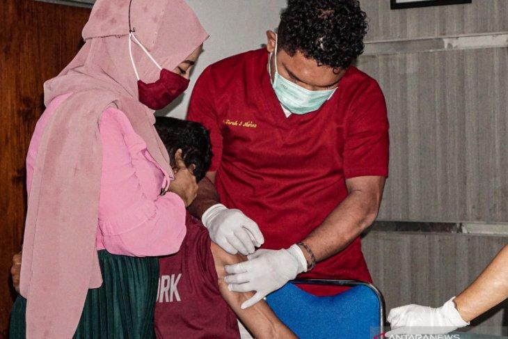 Dinkes Belitung targetkan 600 orang disuntik vaksin COVID-19 dalam sehari