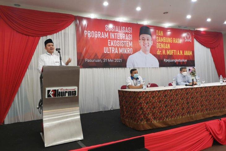 Anggota DPR RI Mufti Anam serap aspirasi pelaku usaha ultramikro