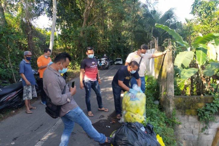 Polres Gianyar selidiki pelaku pembuang 35 kg limbah medis di Gianyar-Bali
