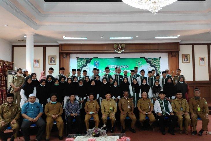 Sekda Paser lepas 48 peserta MTQ ke-42