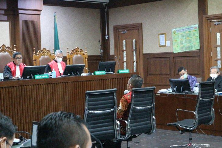 Saksi jelaskan pembagian jatah bansos untuk anggota DPR dan pejabat Kemensos