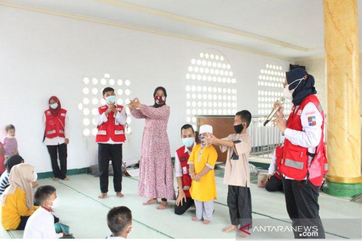 Tekan penyebaran COVID-19, PMI Kota Bogor genjot promosi kesehatan pada anak-anak