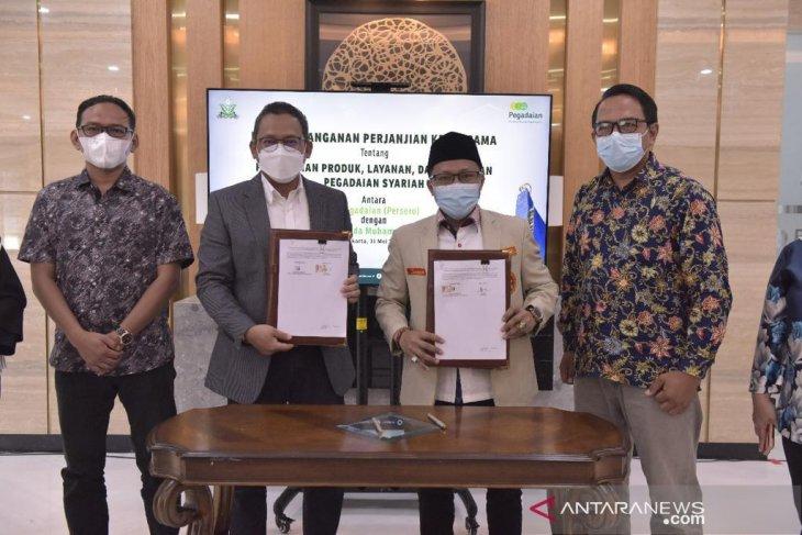 Pegadaian gandeng PP Pemuda Muhammadiyah tingkatkan literasi keuangan kaum milenial