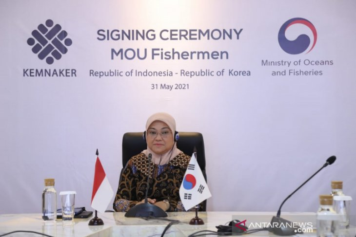 S Korea inks pact to better protect Indonesian seafarers