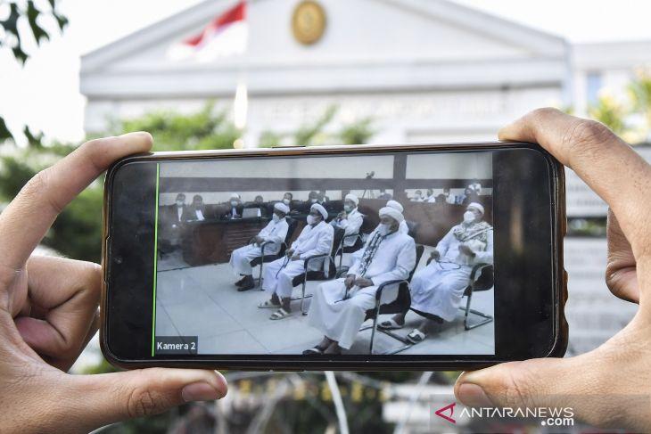Rizieq Shihab ajukan banding vonis Petamburan dan Megamendung