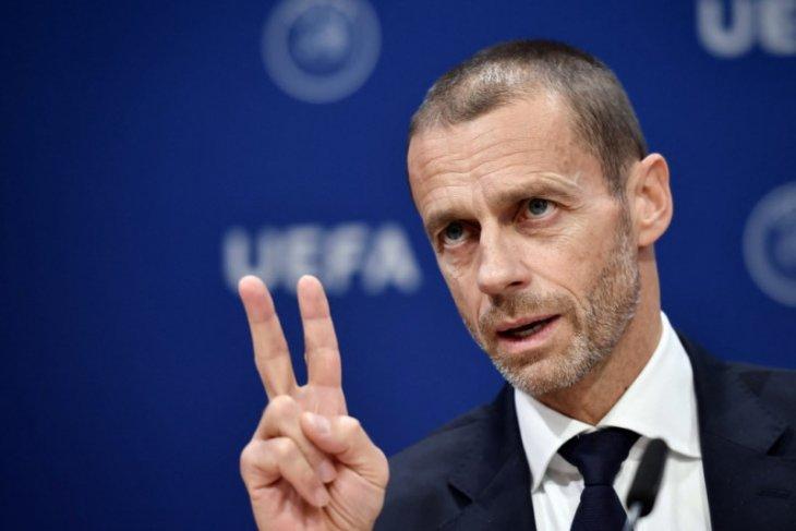 Aleksander Ceferin sewot tuding Juventus, Madrid dan Barca ancam eksistensi UEFA