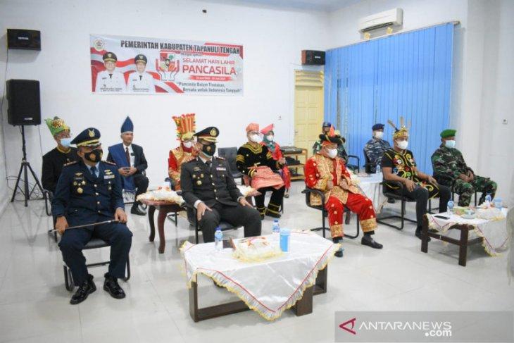 Pemkab Tapanuli Tengah ikuti peringatan upacara hari lahirnya Pancasila