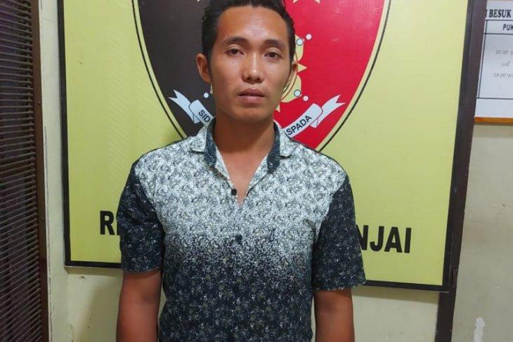 Polsek Binjai tangkap pelaku yang viral tanpa busana masuk ke rumah warga