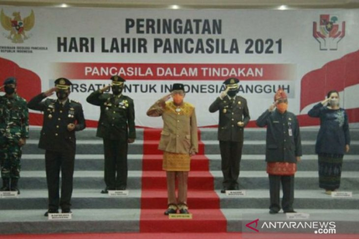 Wabup Belitung: Pandemi COVID-19 momentum perkuat jiwa pancasila