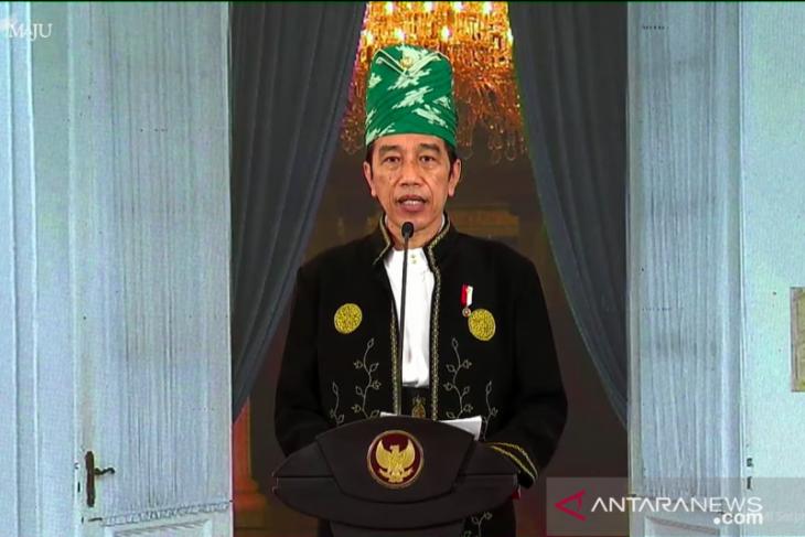 Presiden sebut tantangan dihadapi Pancasila tidak semakin ringan