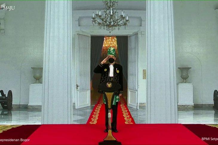 Presiden Jokowi ajak aktif perkokoh Pancasila