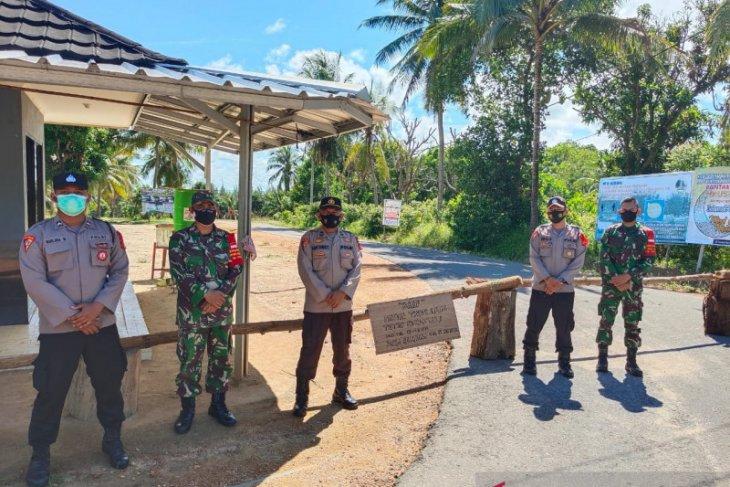Polres Bangka terjunkan puluhan personel polisi di tempat wisata