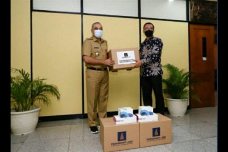 Paramount serahkan bantuan alat tes COVID-19 ke Pemkab Tangerang