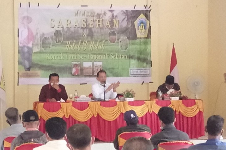 Ditengah pandemi, KTNA - Pemkab dorong kemajuan petani Tapsel