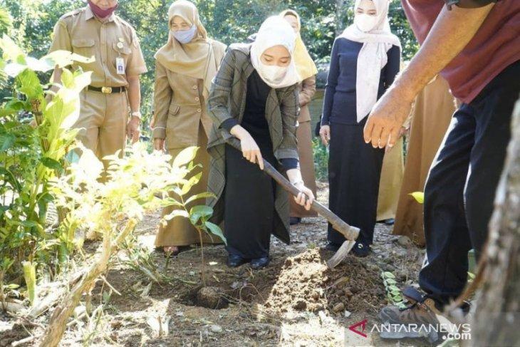 PKK HST lakukan penghijauan dengan menanam pohon