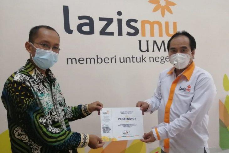 Peduli Palestina, PCIM Malaysia serahkan bantuan ke Lazismu Pusat