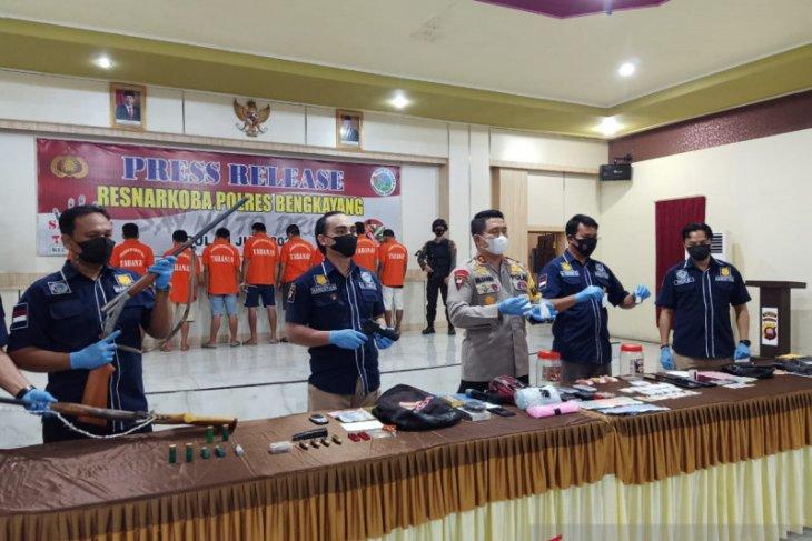 Polisi ungkap delapan kasus narkoba di Bengkayang selama Mei