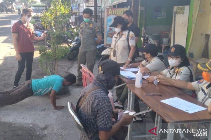 Tim Yustisi Kota Denpasar pantau pelaksanaan prokes COVID-19