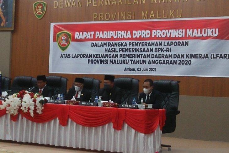BPK berikan opini WTP atas laporan keuangan Pemprov Maluku 2020