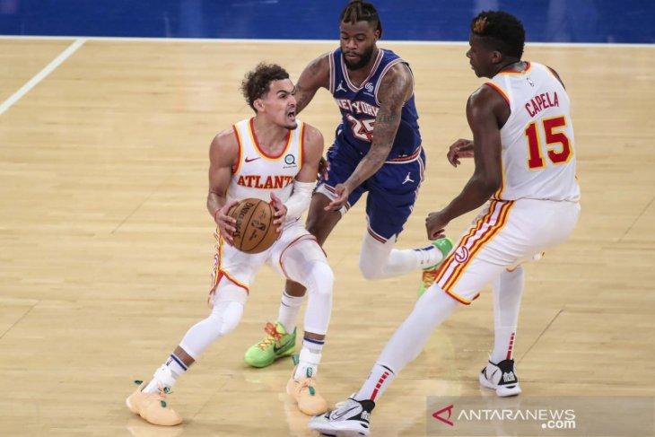 NBA, Trae Young cetak 36 poin saat Hawks singkirkan Knicks