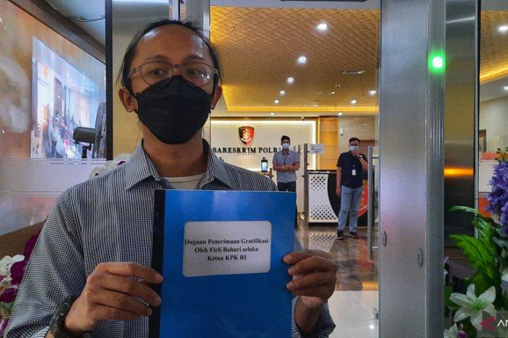 ICW laporkan ketua KPK ke Bareskrim Polri
