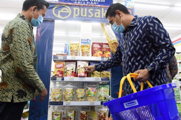 Omzet UMKM di Kediri naik setelah produknya masuk toko swalayan