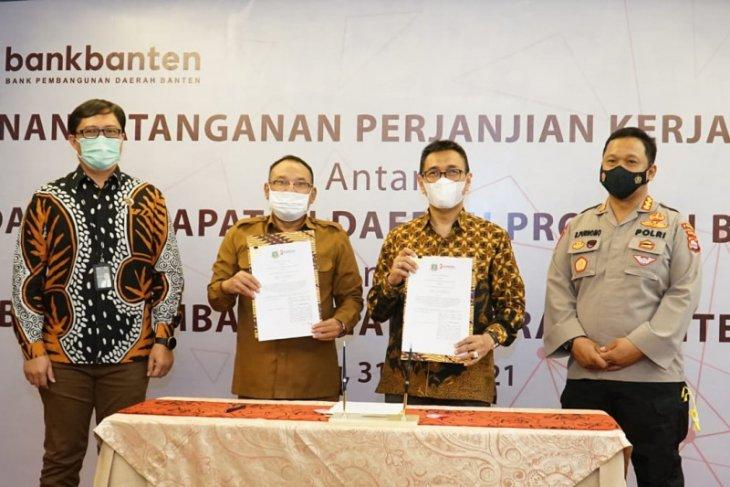 Bank Banten - Bapenda jalin kerjasama perkuat ekosistem keuangan daerah
