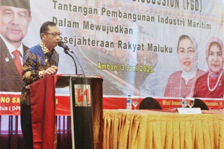 Wagub  Maluku harus jadi poros maritim Indonesia. Perlu direalisasikan
