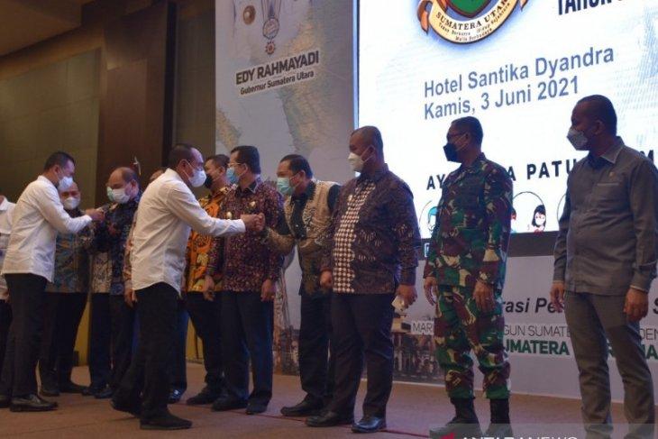 Wali Kota Padangsidimpuan hadiri rapat perubahan RPJMD Sumut