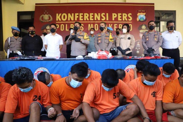 Polres Mojokerto sita sabu-sabu seberat 500 gram kiriman dari Aceh
