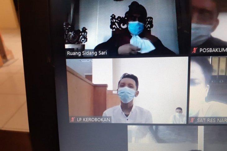 Jaksa  di Denpasar tuntut 13 tahun penjara penyalahguna narkotika