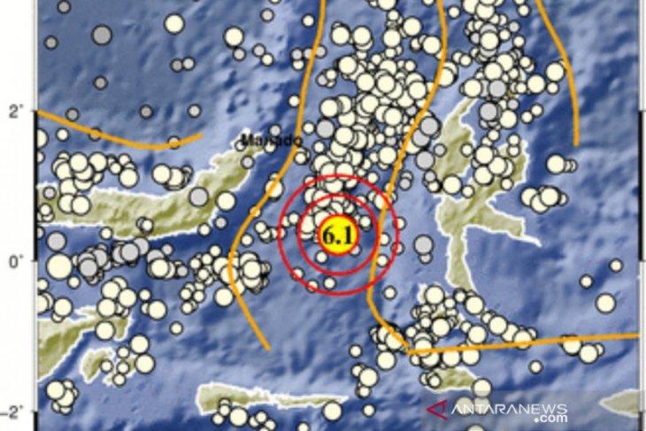 Gempa M 6,1 guncang Maluku Utara