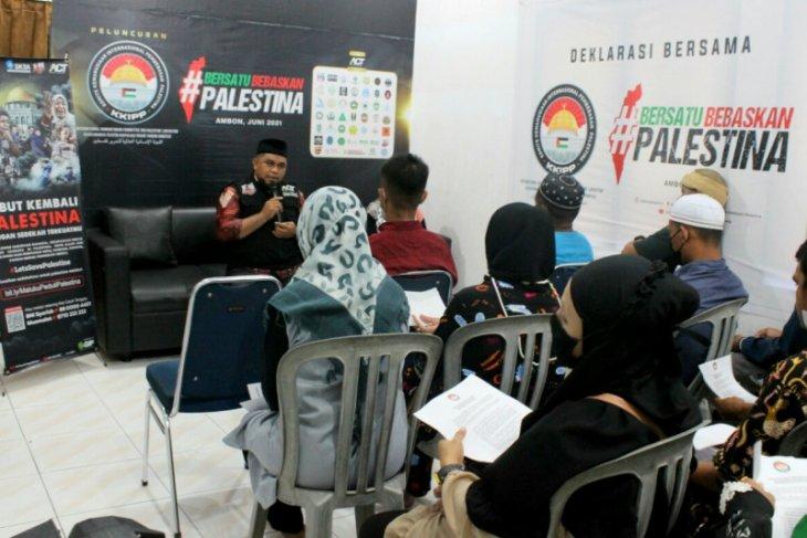 ACT Maluku-KKIPP tolak Solusi Dua-negara yang rugikan Palestina. Begini penjelasannya.