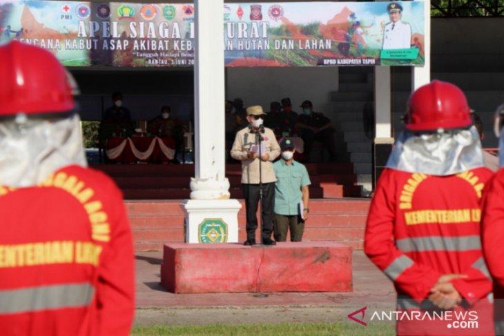 Bupati Tapin : Karhutla jadi tanggung jawab bersama