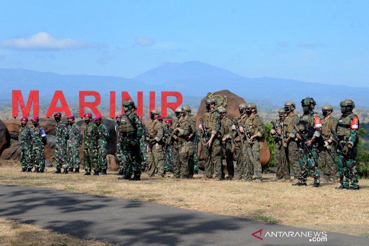 Latihan Bersama Korps Marinir Indonesia-Amerika