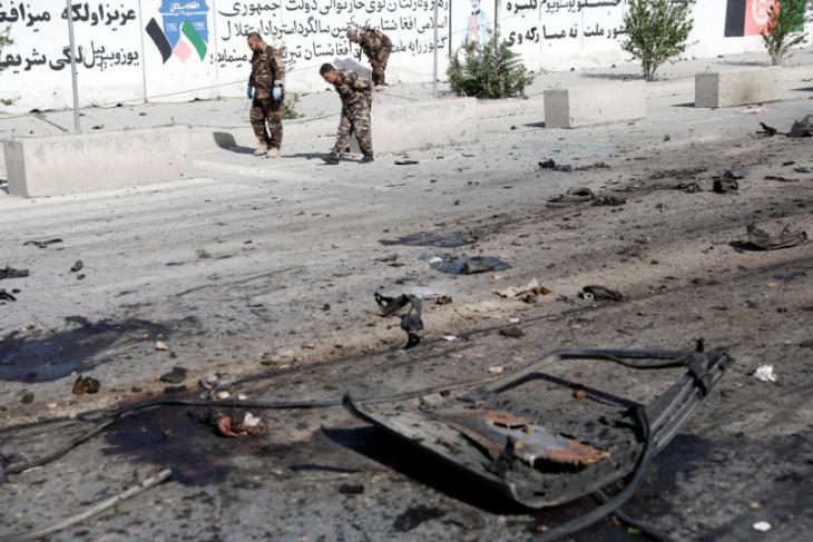 Ledakan di Kabul lukai dua warga sipil