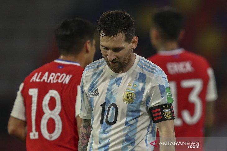 Kualifikasi Piala Dunia: Argentina dan Chile berbagi satu poin