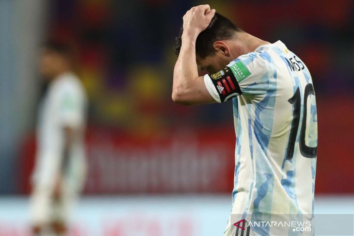 Copa America 2021 - Messi khawatir tertular COVID-19 jelang laga melawan Chile