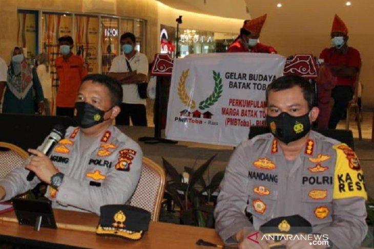 Mirip seperti di Ambon Polisi Riau tangkap pemalsu 1.252 surat bebas COVID-19