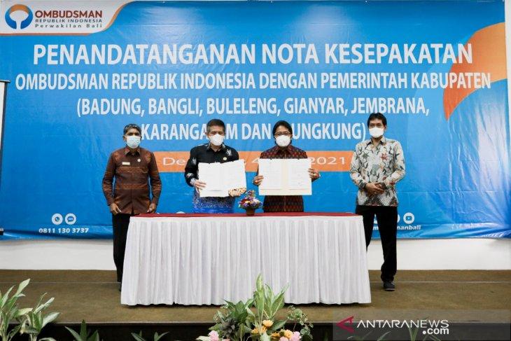 Pemkab Badung dan Ombudsman sepakat tingkatkan kualitas layanan publik