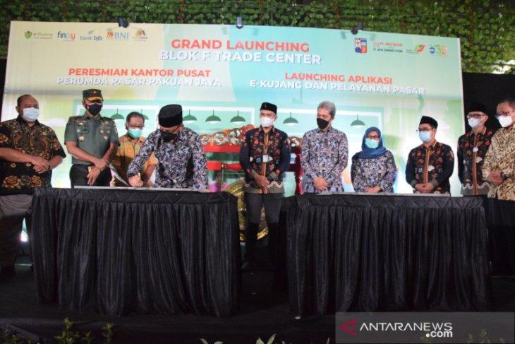 Bima Arya resmikan Blok F Trade Center Pasar Kebon Kembang Kota Bogor