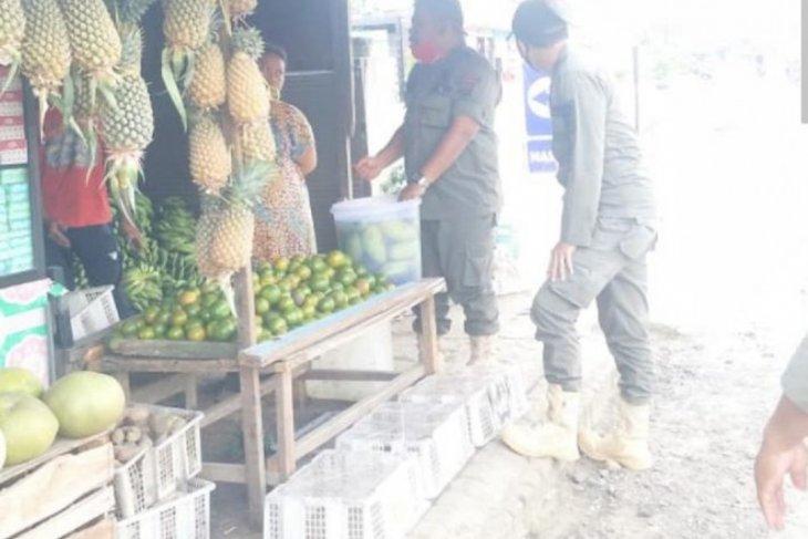 Satpol PP Lakukan Patroli Wilayah di Kecamatan Simpang Empat