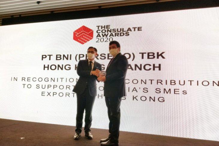 BNI terima penghargaan Consulate Award 2020 dari KJRI Hong Kong