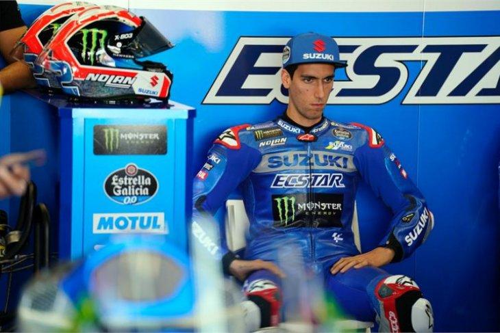 GP Catalunya, Alex Rina absen  karena cedera sewaktu latihan