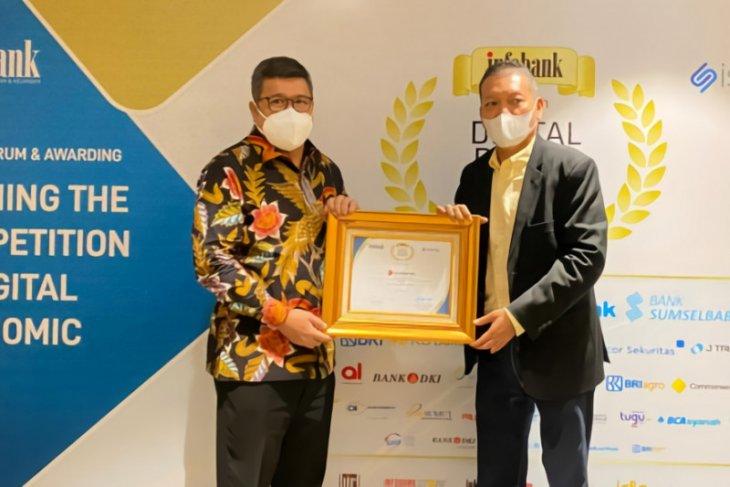 Bank Banten Raih Penghargaan di Ajang Infobank Digital Brand Award 2021