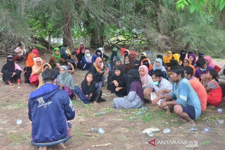 Begini cerita 81 Rohingnya terdampar ke Aceh Timur